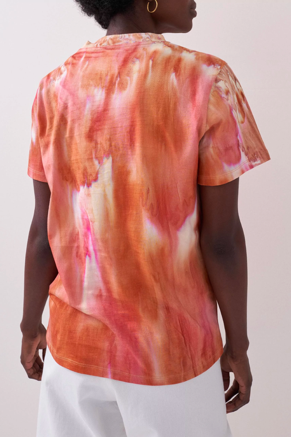 Rika Goldie Tee - Aquarella Dye Back