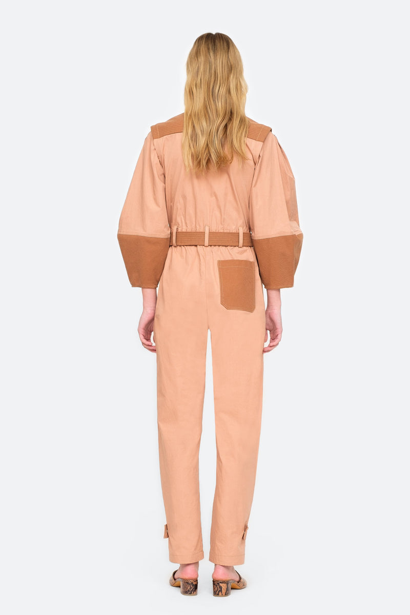 Sea NY Gabriette Jumpsuit - Clay