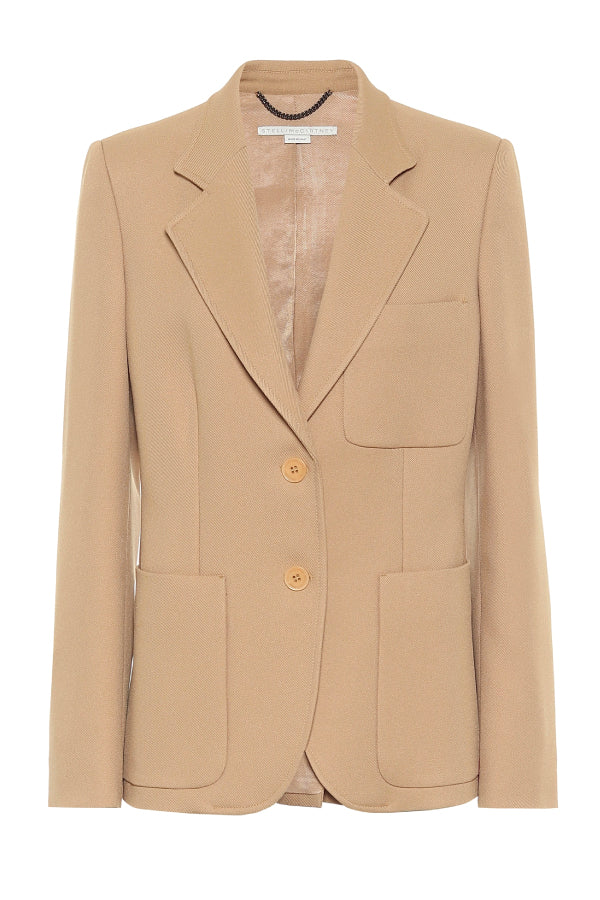 Stella McCartney 601902SOA36 Eleanor Jacket - Camel
