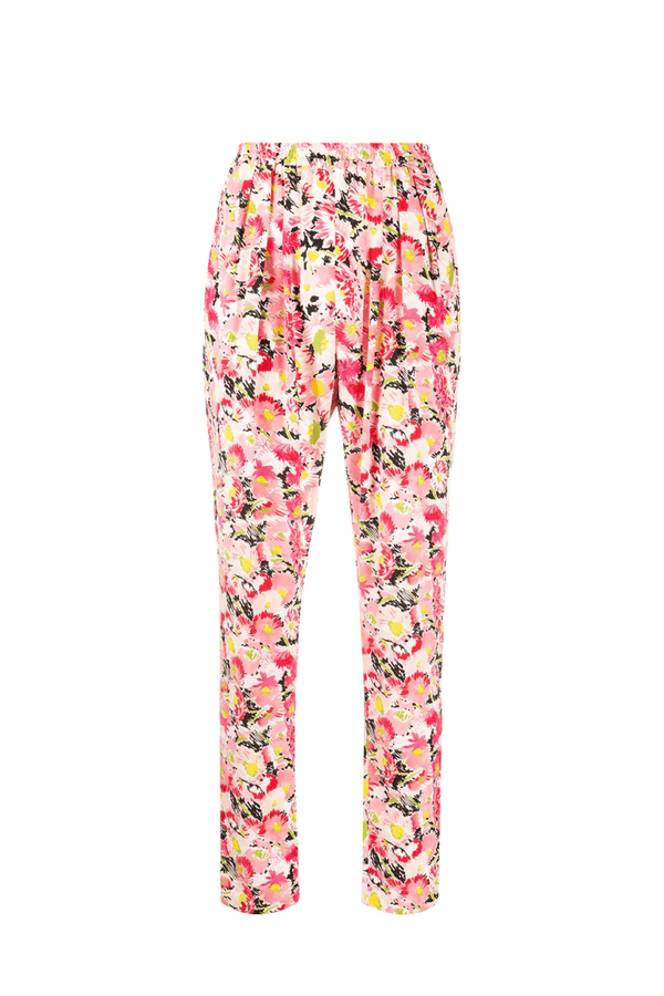 Stella McCartney 293557SRA27 Christine Silk Trousers - Pink