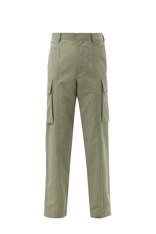 Stella McCartney 603076SIA03 Grey Trousers - Pale Khaki