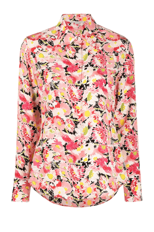 Stella McCartney 606912SRA27 Willow Silk Shirt - Pink