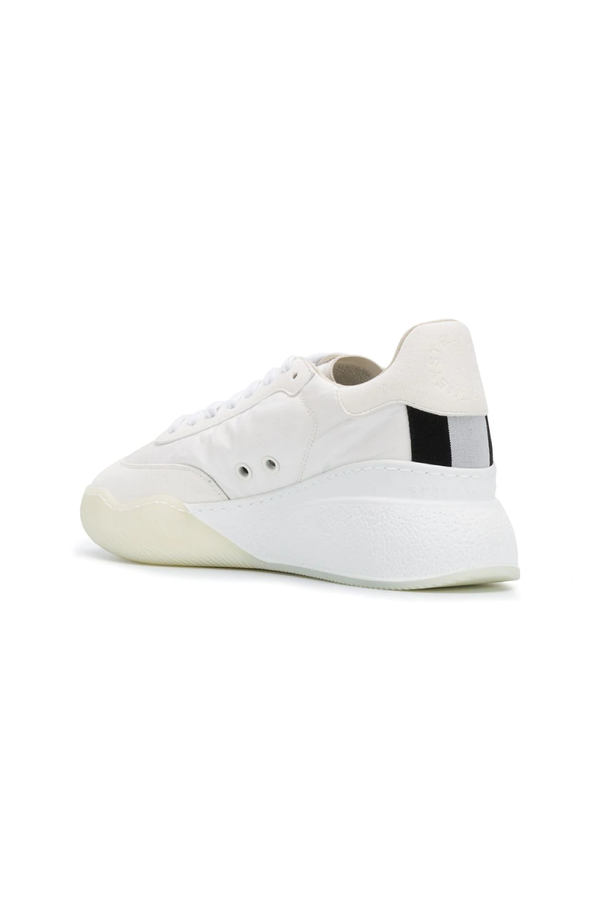 Stella McCartney 800145N0071 Loop Sneaker - White/ Black Back