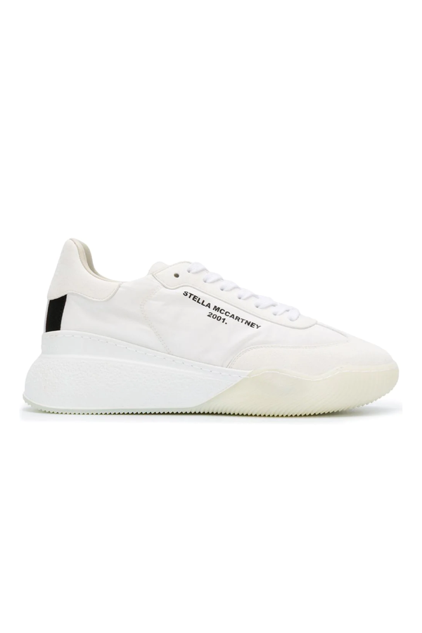 Stella McCartney 800145N0071 Loop Sneaker - White/ Black