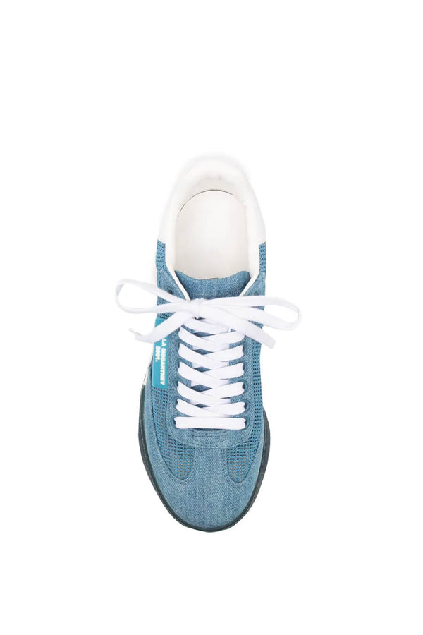 Stella McCartney 800357N0220 Loop Square Mesh Sneaker - Multi Denim Top