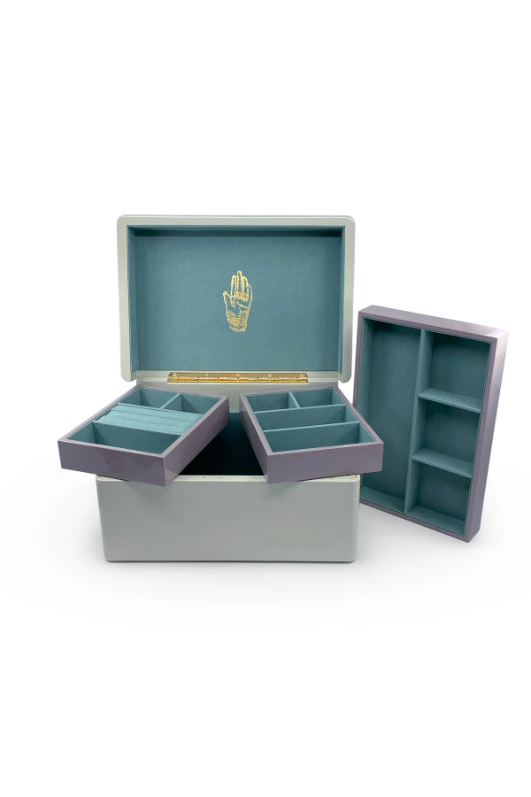 Trove Trunk - Mint Interior