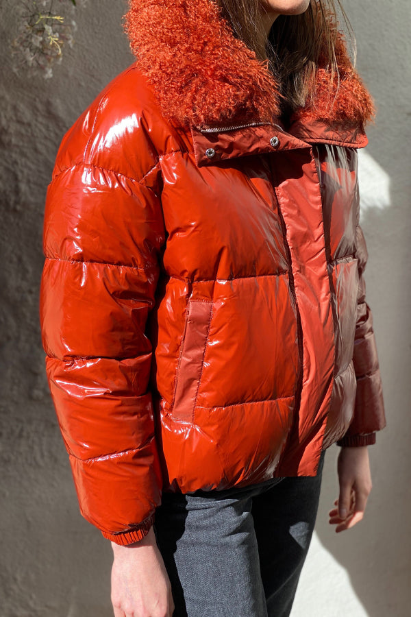 Yves Salomon Technical Puffer Jacket - Pompei
