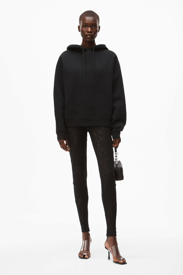 Alexander Wang.T 4CC1202025 Foundation Terry Hoodie - Black Front