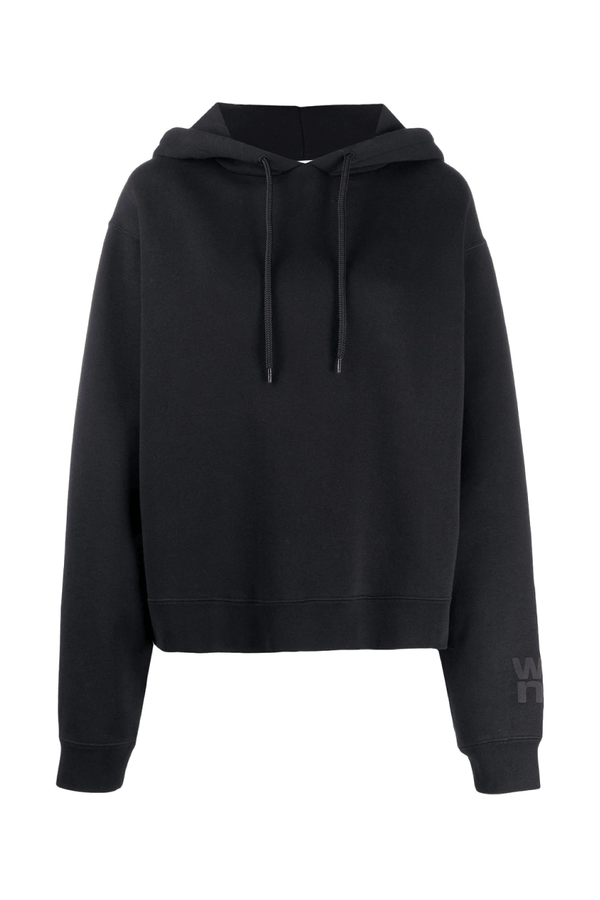 Alexander Wang.T 4CC1202025 Foundation Terry Hoodie - Black