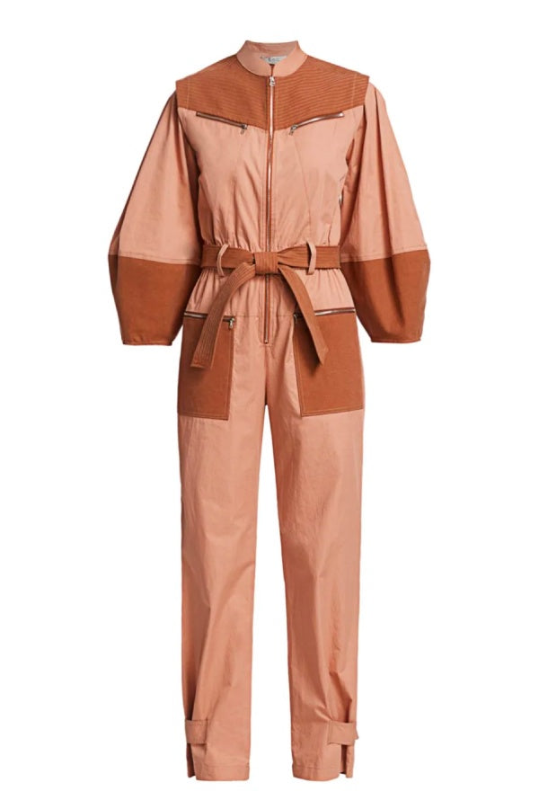 Sea NY Gabriette Jumpsuit - Clay (4727493197959)
