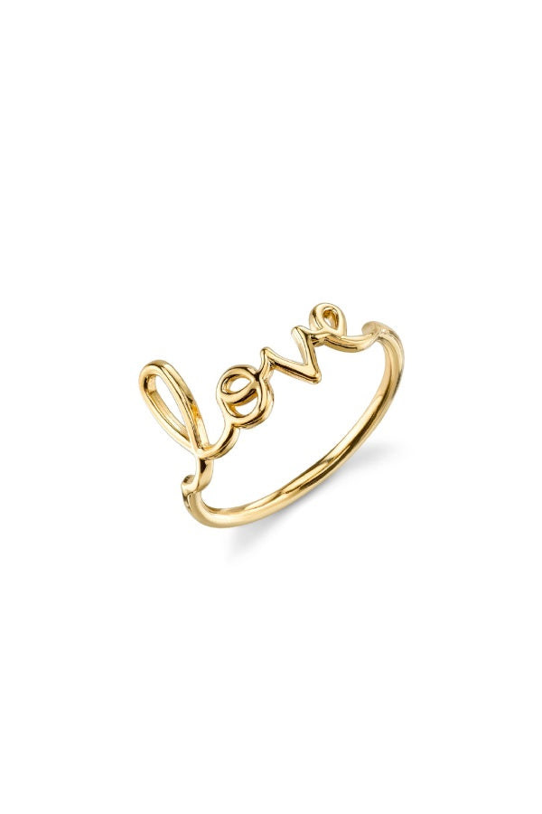 Sydney Evan Pure Love Ring - Yellow Gold