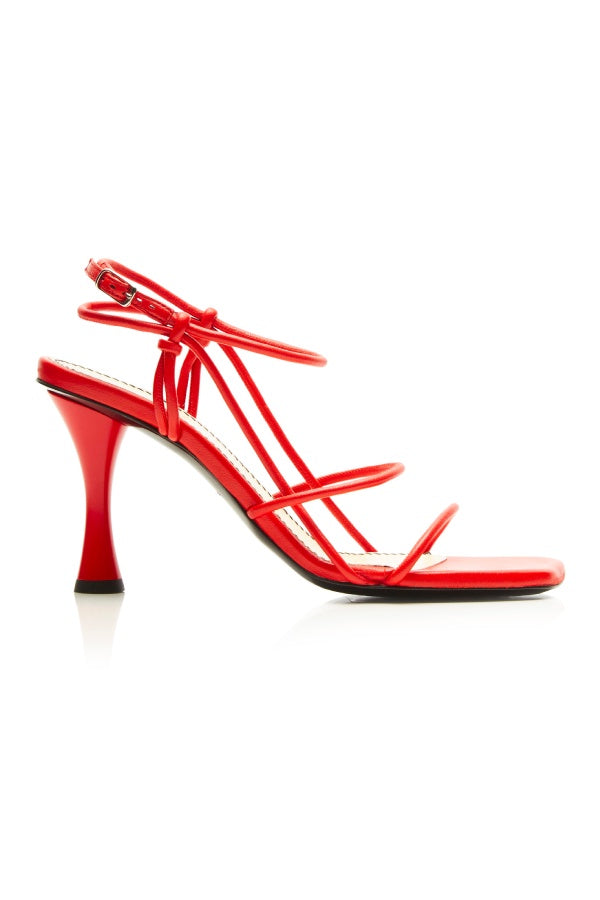 Proenza Schouler Strappy High Heel Sandal - Red (4473172033671)