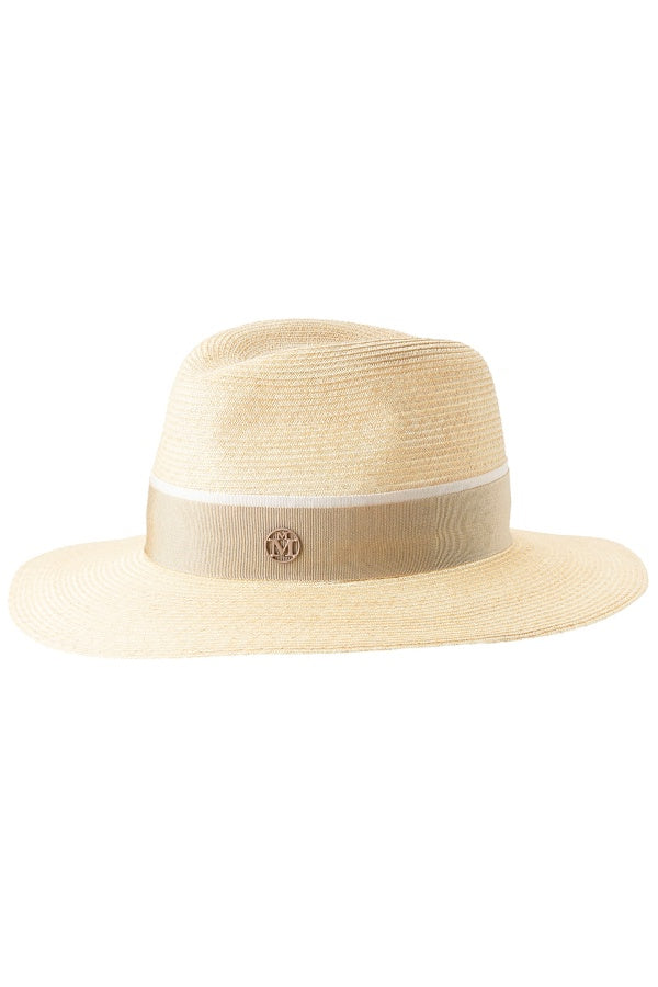Maison Michel Timeless Henrietta Straw Hat - Natural/ Beige