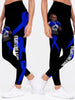 Multi-Color Melanin Warrior Cancer Awareness Premium Leggings