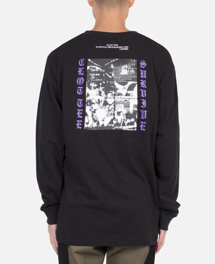 Survive Graphics L/S T-Shirt (Black)