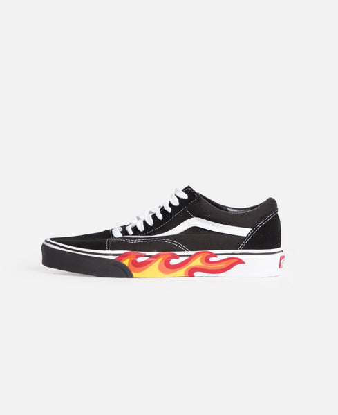 Flame Cut Out Old Skool