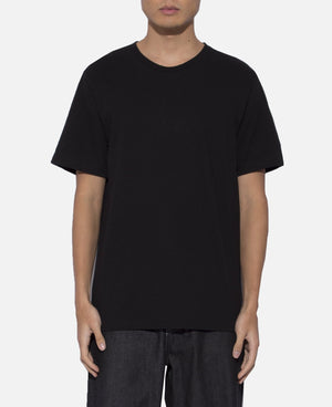 Over Size Crew Neck T-Shirt (Type-4) (Black)