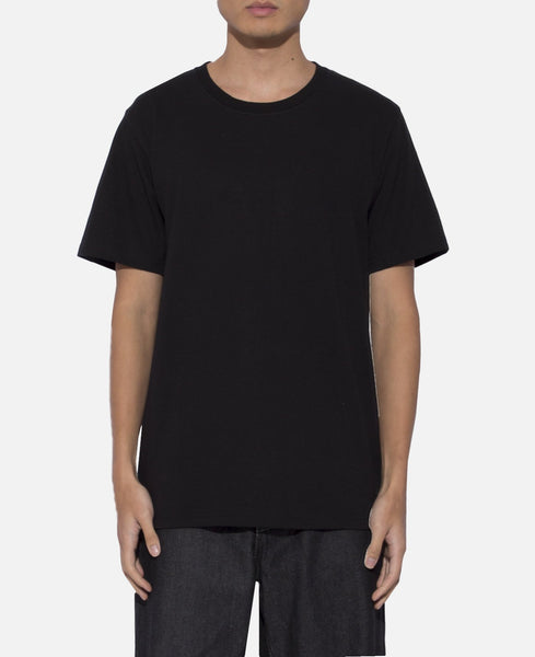 Over Size Crew Neck T-Shirt (Type-3) (Black)