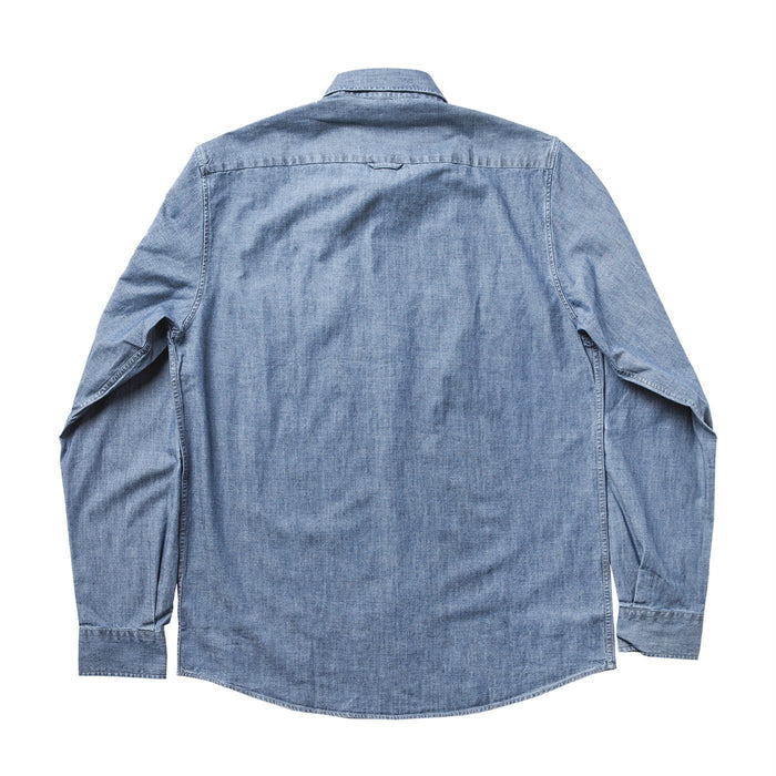 SUNSPEL L/S ODUBLE POCKET WASHED OVER SHIRT