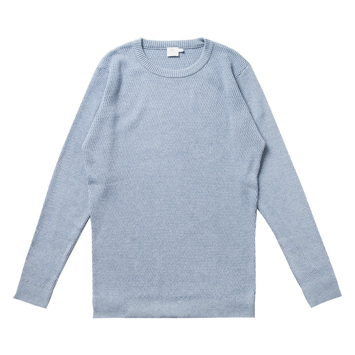 EGYPTIAN L/S WAFFLE JUMPER