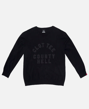 County Hell Knit Crewneck Sweat