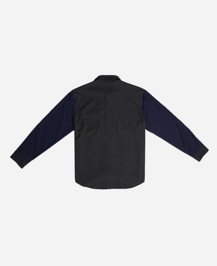 Double Pocket L/S Shirt (Navy)