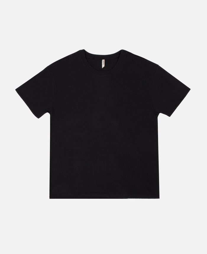 Boxy S/S T-Shirt (Black)