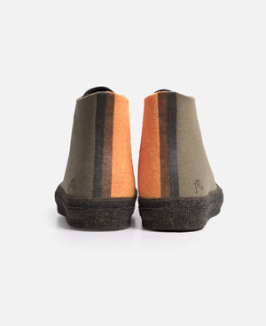 Felt Chuck 70 Hi (Stone Grey / Flame Orange)