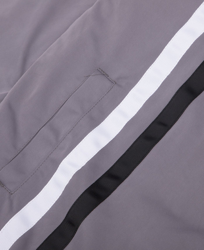 Stripe Windbreaker (Grey)