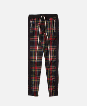 Tartan Wool Plaid Trouser