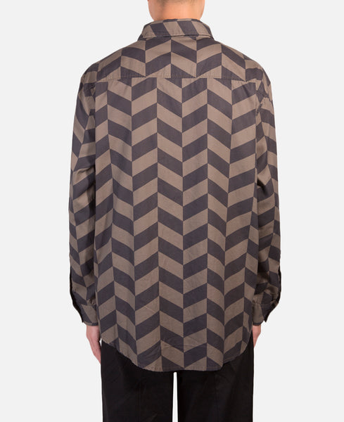 Houndstooth L/S Shirt