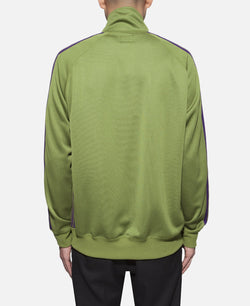 Track Jacket Poly Smooth Green