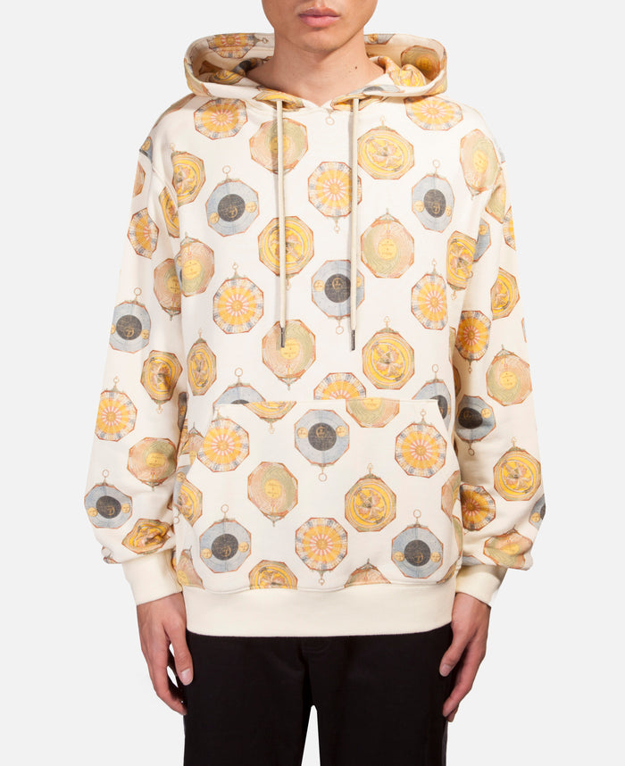 Compass Pattern Hoodie