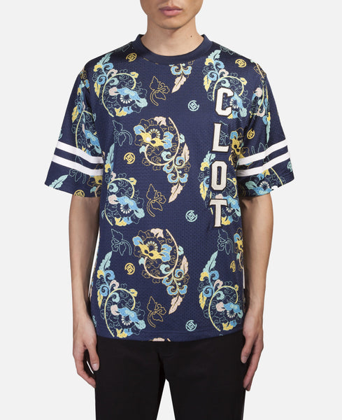 Floral Football Jersey