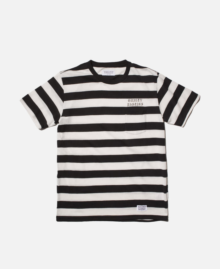 Striped Crew Neck T-Shirt (Type-3)
