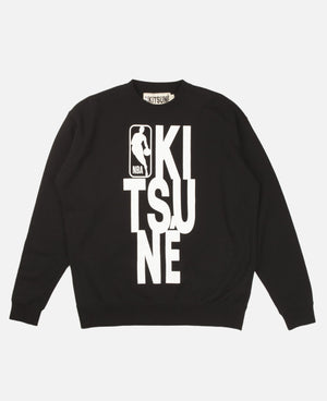 Kitsuné x NBA Sweat-Shirt Crew Neck
