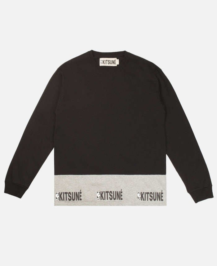 Kitsuné x NBA Tee-Shirt Long Sleeves
