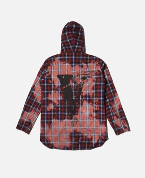 CLOT X VLONE Dragon Hooded Shirt