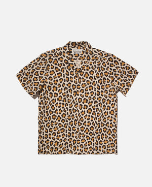 Leopard S/S Hawaiian Shirt (Type-1)
