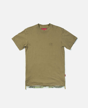Panelled S/S T-Shirt