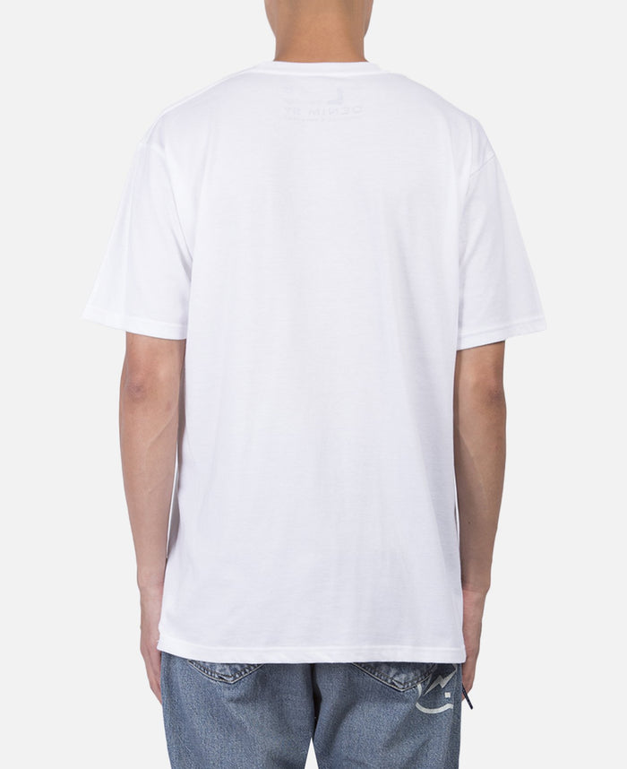 Denim Photo T-Shirt (White)