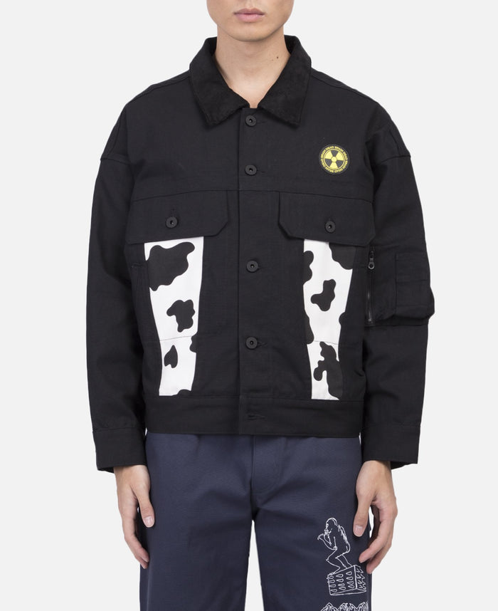 Cow Club Trucker Jacket