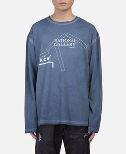 National Gallery Long Sleeve T-Shirt (Blue)
