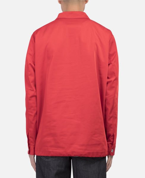 Boxy Windbreaker (Red)