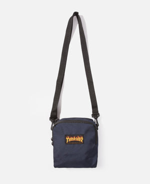 Flame Mini Shoulder Bag (Navy)