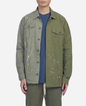 Distorted Military Shirt