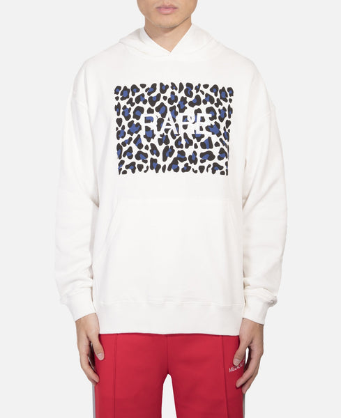 Relax Hoodie With Leopard Print