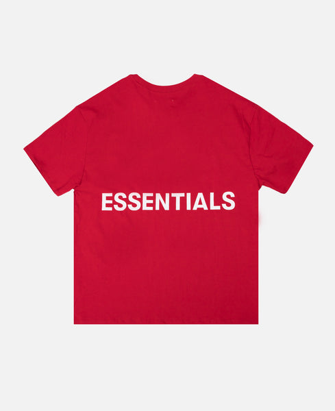 Boxy Graphic S/S T-Shirt (Red)