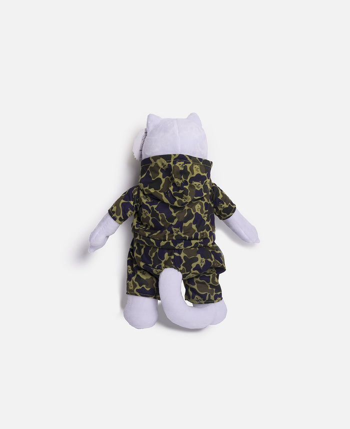 Nerm Camo Plush Doll (White)
