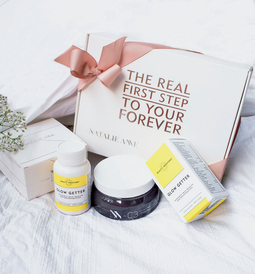 NATALIE ANNE X BEAUTY BOOSTERS HAIR GOALS BEAUTY BOX